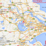 Minghao Map 10-English Location Map in China 20131002