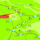 Minghao Map 12-Chinese and English Location Map in China 20131212